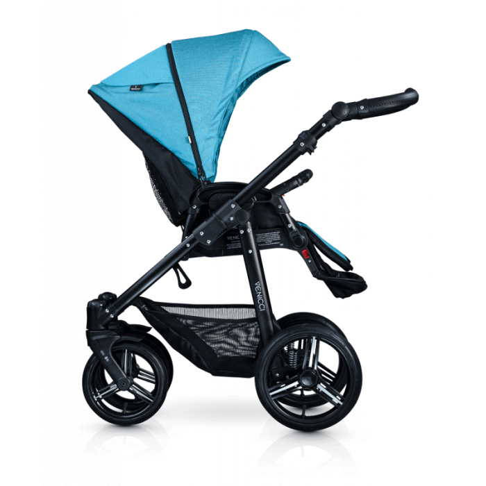 Venicci Soft 3-in-1 Travel System - Denim Sky / Black - Seat Unit