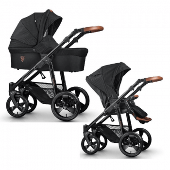 Venicci Gusto 2-in-1 Travel System - Black
