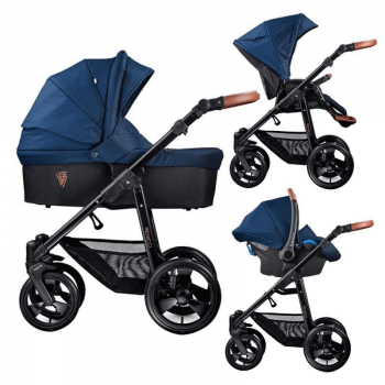 Venicci Gusto 3-in-1 Travel System - Navy