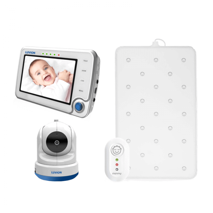 Luvion Supreme Wi-Fi Connect Video Baby Monitor & Nanny Baby Sensor Monitor