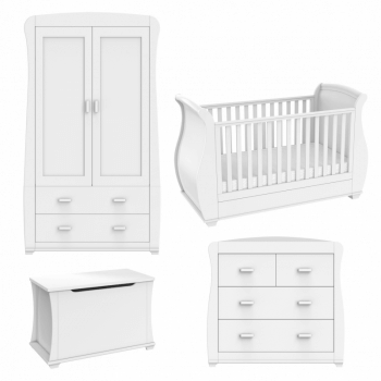 Babymore Bel Room Set 5 Pieces - White-2