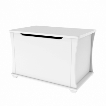 Babymore Bel Toy Chest - White-2