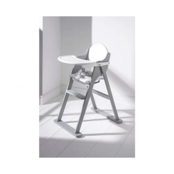 East Coast Folding Highchair White and Grey