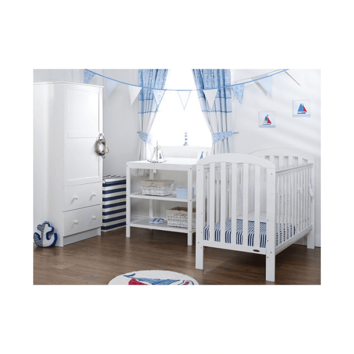 Obaby Lily 3 Piece Room Set - White