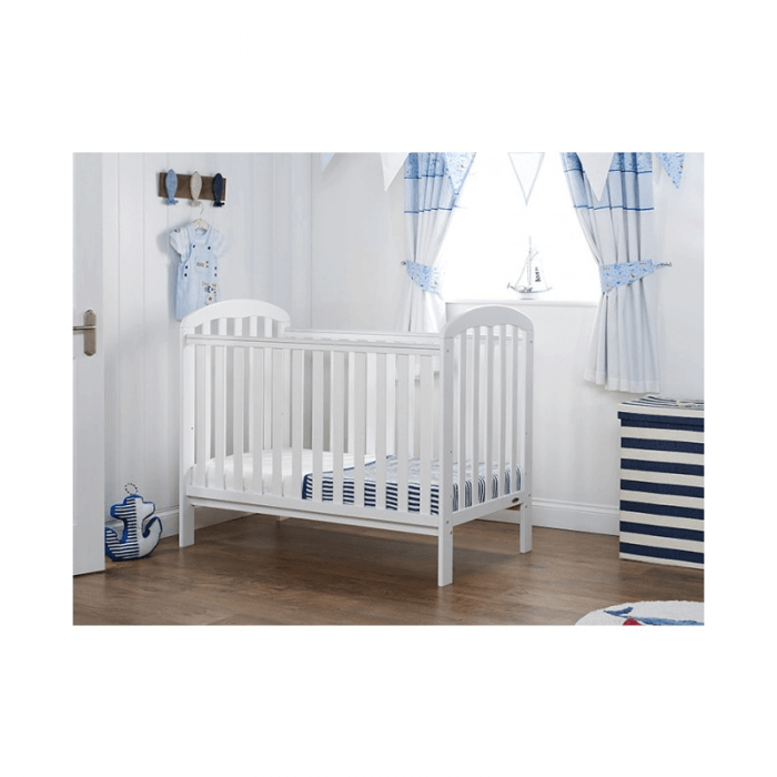 Obaby Lily 3 Piece Room Set - White Cot