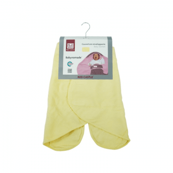 Red Castle Babynomade 0-6 Months Summer Yellow Blanket