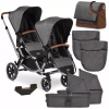 ABC Design Zoom Double Tandem Pushchair Bundle